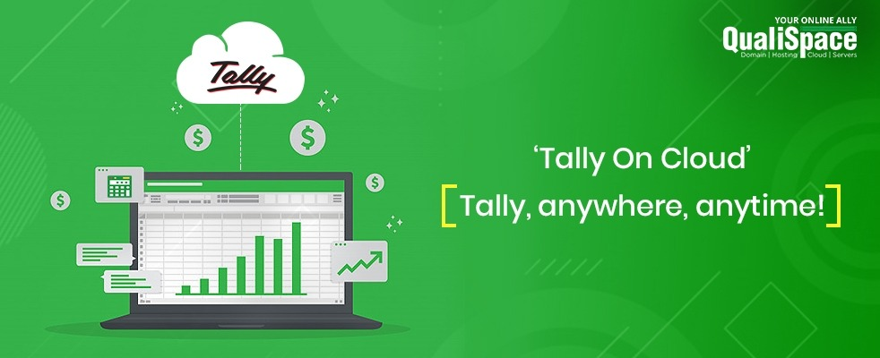 Best and cheapest Tally on cloud in India by QualiSpace blog banner